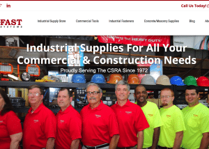 Web Design for Trifast Systems - Industrial Tool Supply Store  Tri-fast Systems small business web design 300x214
